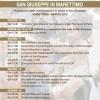 Marettimo, Il programma delle manifestazioni  in onore di San Giuseppe