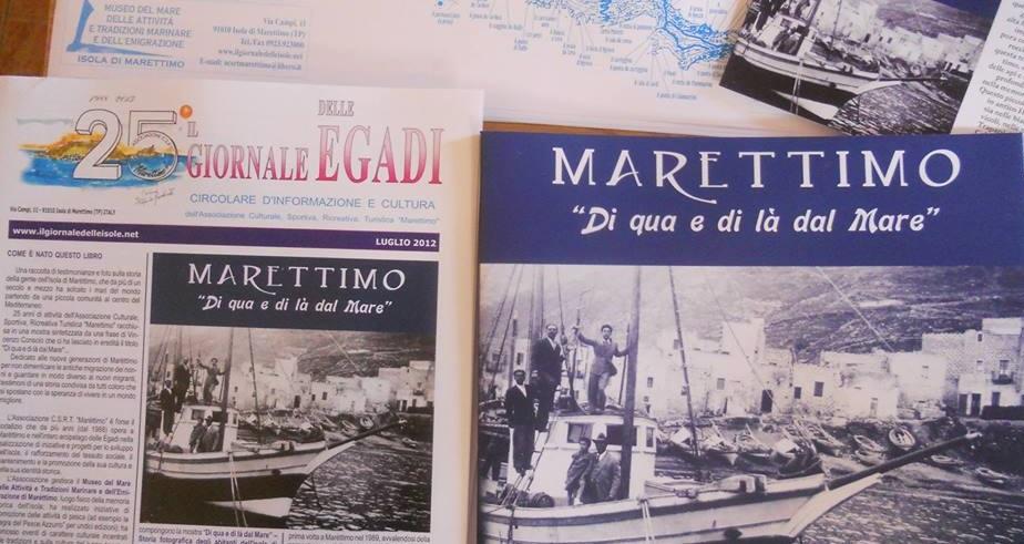 """A Marettimo: """"Libri e Letture Di qua e di la dal Mare"""" edizione 2015"""