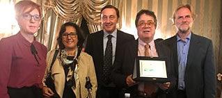 """Premio """"Marèttimo Di qua e di là dal Mare"""" all'assessore Tusa La consegna in occasione del convegno """"Marèttimo-Isola Sacra fra Mare e Monti"""""""
