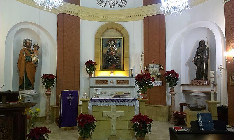Chiesa Marettimo Madonna Custonaci