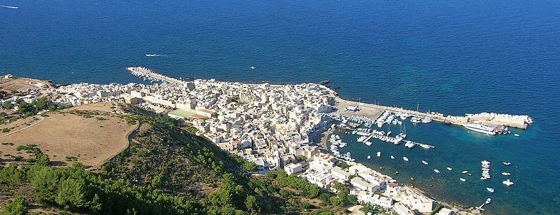 Panoramica paese di Marettimo
