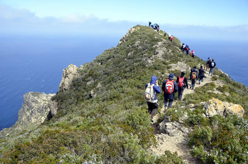 trekking marettimo isole egadi
