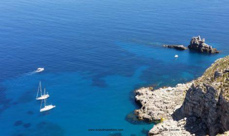 Il mare e le spiagge di Marettimo