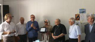 """Consegnato  il premio nazionale """"Foca monaca"""" 2019 per la solidarietà, la legalità, la pace e la cura del creato nel mediterraneo"""