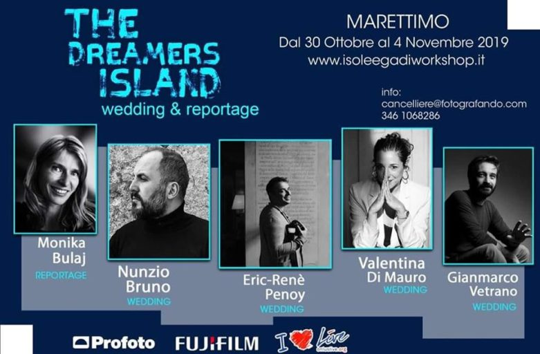 """The Dreamers Island"" – Workshop per fotografi, 30 ottobre al 4 novembre 2019 a Marettimo"
