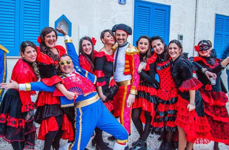 Sull'Isola di  Marettimo dal 20 al 25 Febbraio 2020, sfilate in maschera, degustazioni e tanta allegria
